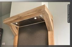 Eiken keukenschouw met pilaren Home Decor, Decoration Home, Room Decor, Home Interior Design, Home Decoration, Interior Design