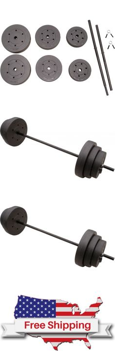 Other Strength Training 28067: 100 Lbs Weights Set Workout Weight Lifting Barbell Exercise Plates Home Gym New -> BUY IT NOW ONLY: $51.95 on eBay!