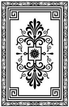 Decorative concrete patterns and stencils, supplies and workshops for creating decorative concrete effects for residential and commercial de. Stencil Patterns, Floor Patterns, Stencil Designs, Embroidery Patterns, Floor Design, Ceiling Design, Arabesque, Stencils, Pyrography