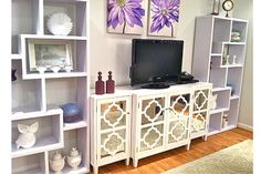 how to dress up a tv stand - Google Search