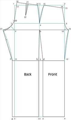 How to Draft a Basic Pant Pattern « Sewing & Embroidery