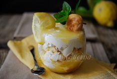 Coppa veloce al limone panna e mascarpone
