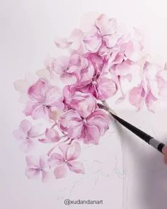 Stunning Artwork🌸 Also, check out Nil-Tech Pencil set by clicking THE WEBSIT. Watercolor Video, Watercolor Painting Techniques, Watercolor Drawing, Watercolor Illustration, Watercolor Flowers, Watercolor Paintings, Simple Watercolor, Watercolor Animals, Watercolor Background