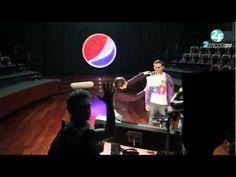 Behind the scenes - Pepsi Commercial. #PEPSI