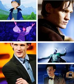 """The Last Unicorn"" live action fancast: Matt Smith as Schmendrick (courtesy of theboyfallsfromthesky.tumblr.com)"