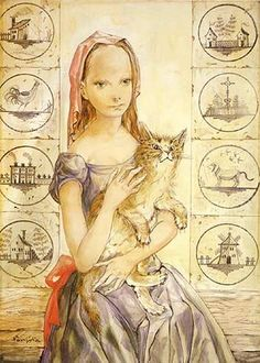 藤田 嗣治(ふじた つぐはる、1886年11月27日 – 1968年1月29日)(レオナール・フジタ) Leonard(Tsuguharu) Foujitaは日本生まれの画家・彫刻家。
