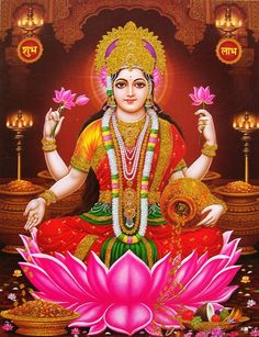 Lakshmi is the Hindu god of wealth, fortune & prosperity and also the wife of Lord Vishnu. Here is a collection of Goddess Lakshmi Images & HD wallpapers. Lakshmi Photos, Lakshmi Images, Hanuman Images, Ganesh Images, Indian Goddess, Goddess Lakshmi, Goddess Art, Devi Images Hd, Hd Images