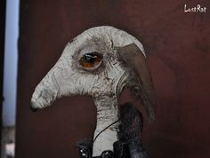 LostRat, 60cm. Art Doll. Soft sculpture, OOAK doll. Stuffed Rat. $599