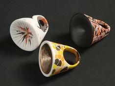 World Fabric Serie (Rings, pigment porcelain) Martha Pachon Rodriguez