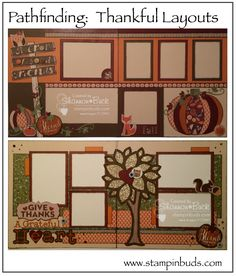 Pathfinding Studio Creations - 2 great layouts, all about gratitude and friendship.  Love them!