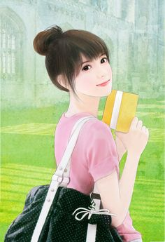 Girl Drawing Sketches, Girly Drawings, Pretty Drawings, Girl Sketch, Beautiful Chinese Girl, Beautiful Anime Girl, Chinese Drawings, Chinese Art, Korean Art