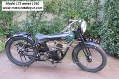 1930 Aiglon (France) 175cc