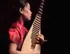 Int'l instruments-China - pipa music -  traditional pipa solo  by Liu Fang 霸王卸甲 劉芳琵琶