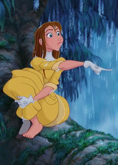 Jane from the Disney film Tarzan Disney Pixar, Disney Magic, Walt Disney, Disney Animation, Disney And Dreamworks, Disney Art, Disney Characters, Tarzan Disney, Pocahontas