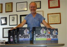 "Why is Dr. Peter Neligan so happy? Because his new 6-volume set ""Plastic Surgery, 3rd Edition"" is only one month away! #plasticsurgery"