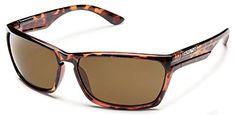 Suncloud Womens Cutout 58mm Brown Polarized Polycarbonate Sunglasses * Want additional info? Click on the image.
