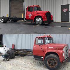 Jack's speed shop, Fort Wayne, Indiana- before and after pics. Hot Rod Trucks, Big Rig Trucks, Mini Trucks, Gmc Trucks, Cool Trucks, Pickup Trucks, Truck Flatbeds, Fuel Truck, Shop Truck