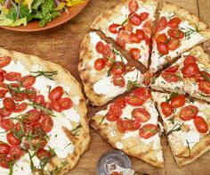 5/5 Healthy Grilled Pizza - Easy, healthy, and delicious. I make it at least once a week for a quick lunch.