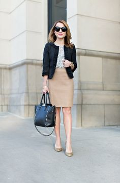 Work Outfit: Neutral Separates (Hello, Framboise!)