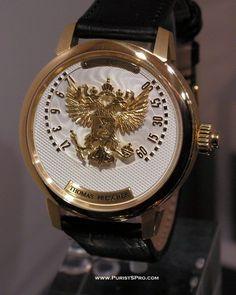 Thomas Prescher Tempusvivendi Russian Eagle watch