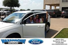 Happy Anniversary to Robin on your #Dodge #Journey from Johnie Thomas at Waxahachie Ford!  https://deliverymaxx.com/DealerReviews.aspx?DealerCode=E749  #Anniversary #WaxahachieFord