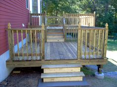 2 tier deck provided by Lee Day Interior Specialties L.P. Mansfield 02048