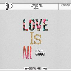 Love Is All | Alphas by Juno Designs