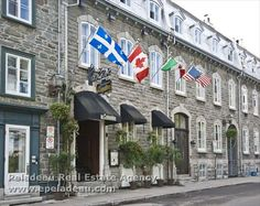 Residential condos and houses for sale - Residential for sale - Peladeau Real Estate Agency Old Quebec, Quebec City, Old Port, Real Estate Agency, Property For Sale, Condo, Street View, House, Haus