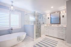 spa-like bathroom with soaking tub