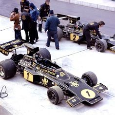 Two Lotus 72s 1974
