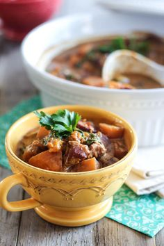 Apple and Butternut Squash Pork Stew