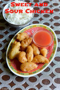 Make your own recipe for restaurant style sweet and sour chicken, your family will love this dinner recipe. You can make your own sweet and sour sauce.