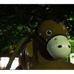 Instagram【akya0414】さんの写真をピンしています。 《馬?も発見  #photo #写真 #日本 #アジア #japan #asia #公園 #park #遊具 #動物 #怪獣 #公園アニマル #公園アニマルズ #アニマル遊具 #playground #playequipment #夜 #夜景 #night #nightview #写真家 #フォトグラファー #photographer #カメラマン#夜光性静物 #馬 #horse #tokyo #東京 #リアルポケモンgo》