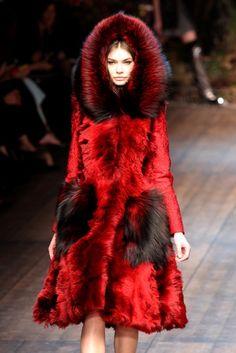 Little Red Riding Hood #fur #aw14