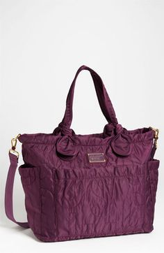 Momma needs a new baby bag - right??!! MARC BY MARC JACOBS 'Pretty Nylon Eliz-A-Baby' Diaper Bag