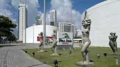 Parque Dona Lindu. Boa Viagem, Recife. Arquitetura de Oscar Niemeyer.