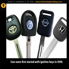 Cars Were Started Before Ignition Keys in 1949