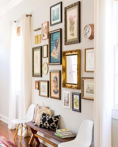 """On a scale of 1-10, how much does this gallery wall make you swoon? 1 = ""I scrolled past it faster…"""