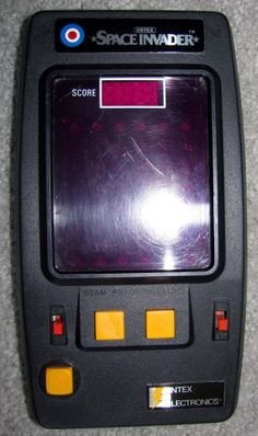 $19.95 shipped. 1980 Entex SPACE INVADERS [vintage hand-held LED video game]