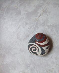 Koru hand-painted rocks, Go To www.likegossip.com to get more Gossip News!