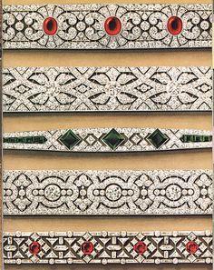 Cinq croquis de bracelets Van Cleef & Arpels, 1923