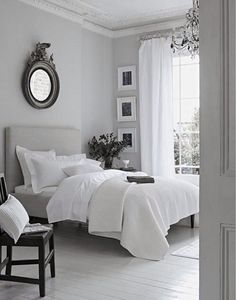 Sleep better thanks to Feng Shui: This is how you optimally furnish your bedroom! - Feng Shui for the bedroom - Feng Shui Bedroom Layout, Bedroom Layouts, Bedroom Styles, Bedroom Designs, Sweet Home, My New Room, Beautiful Bedrooms, Home Interior, Grey Interior Design