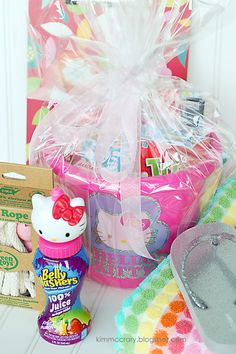 all things simple: easter basket fillers: all things girly 2--more great suggestions for Easter basket fillers.