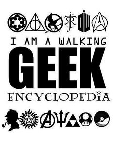♥ nerd life and proud. Bring on all the fandoms!