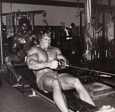 Robby Robinson & Arnold Schwarzenegger