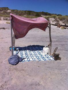 Fort Tilden, NY Beach Shelter