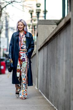 New York Fashion Week Street Style Fall 2018 Day 2 - The Impression