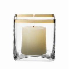 ACHICA | LSA Savoy 12cm Vase, Gold £9 (was £20) - going to make a silk hydrangea arrangement and put it in this vase.