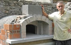 Kiln in refractory bricks with a rectangular base (construction) - page 2 - How to build a wood-burning oven Wood Burning Oven, Wood Fired Oven, Wood Fired Pizza, Barbecue Pizza, Bbq, Refractory Brick, Bread Oven, Pizza Oven Outdoor, Four A Pizza