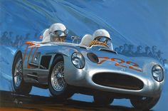Charles Maher: A Mille Miglia 1955, USA, 1996, 47 x 32 ins.